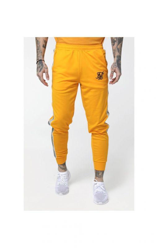SikSilk  Cuffed Cropped Runner Pants – Yellow PANTS Pants