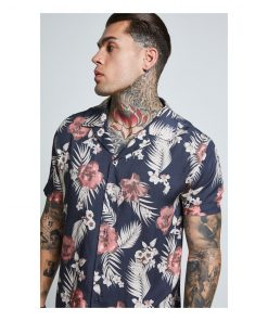SikSilk  S/S Resort Shirt – Hazey Daze SALES shirt