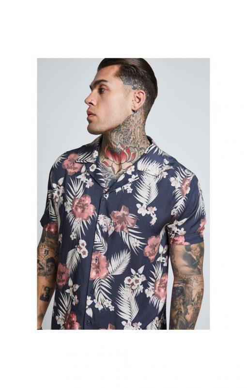 SikSilk  S/S Resort Shirt – Hazey Daze SALES shirt