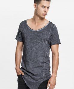 Urbanclassics Asymetric Long Spray Dye Tee SALES t-shirt