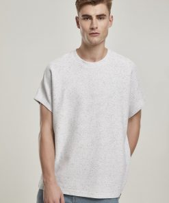 Urbanclassices Cut On Sleeve Naps Interlock Tee T-SHIRT Oversize tee.t-shirt