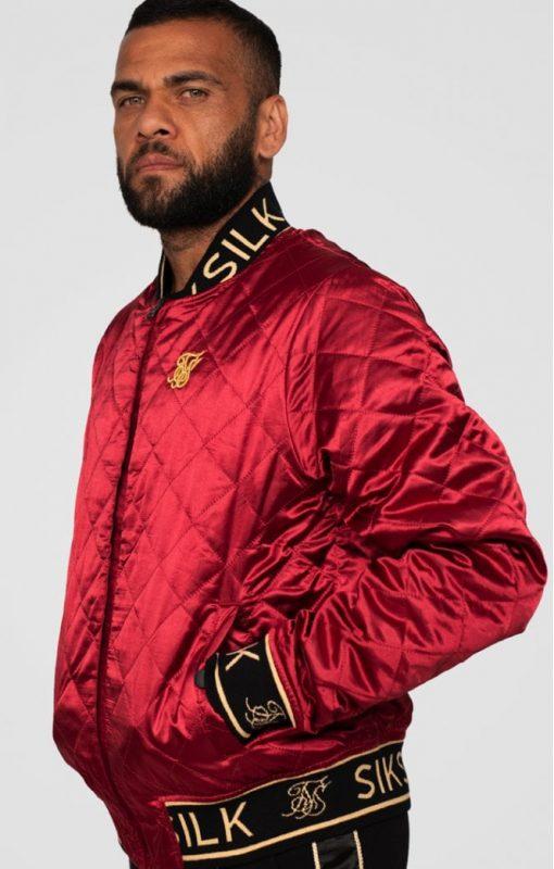 SIKSILK X DANI ALVES REVERSIBLE BOMBER JACKET JACKETS bomber jacket