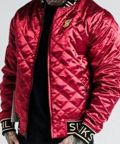 SIKSILK X DANI ALVES REVERSIBLE BOMBER JACKET