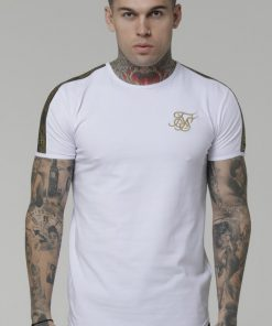 SIKSILK S/S GOLD EDIT RUNNER GYM TEE Siksilk Siksilk